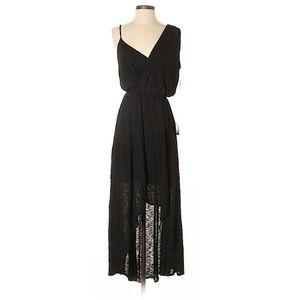 NWT Rebecca Minkoff - Black High-Low Dress